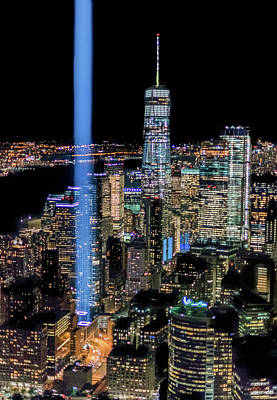 Photograph - 911 Lights by Francisco Gomez