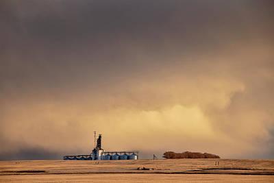 Owls - Prairie Storm Clouds by Mark Duffy