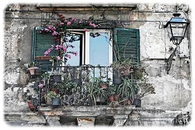 Photograph - A Balcony In Palermo by David Birchall