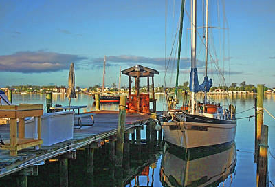 Photograph - A Beautiful Morning by HH Photography of Florida