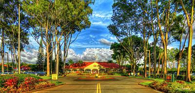 Photograph - A Beautiful Pineapple Dole Plantation Wahiawa Oahu Hawaii Art by Reid Callaway