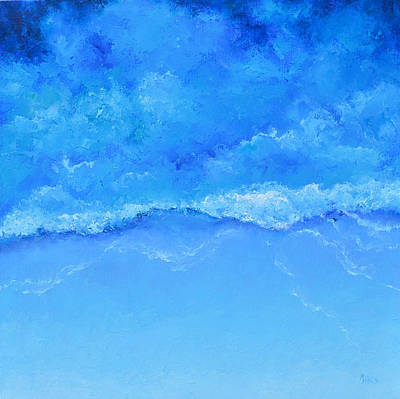 Painting - A Blue Ocean by Jan Matson