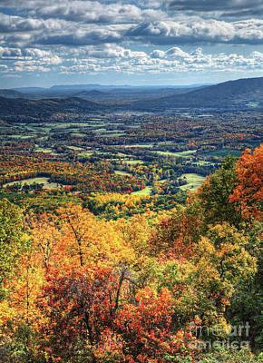 Photograph - A Breathtaking Blue Ridge View by Dan Carmichael