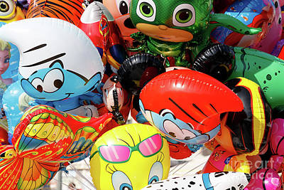 Photograph - A Bunch Of Balloons For Kids Iv by George Atsametakis