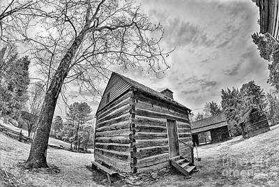 Photograph - A Cabin At Tannenbaum by Dan Carmichael
