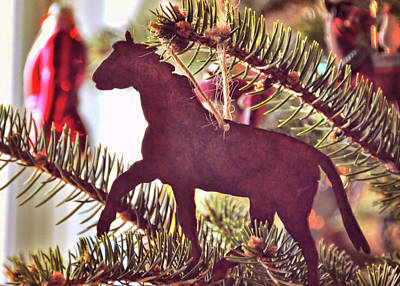 Photograph - A Christmas Trot by JAMART Photography
