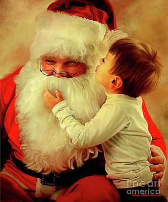 Painting - A Christmas Wish by Tara Richardson