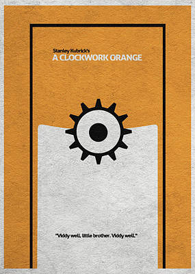 A Clockwork Orange Art Print