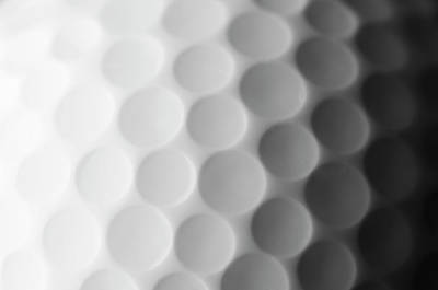 Object Photograph - A Close Up Shot Of A Golf Ball, White by Anthiacumming