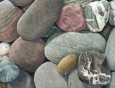 A Congregation Of Stones Art Print