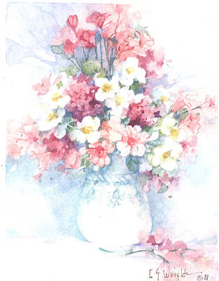 Wall Art - Painting - A Day In May  by Carolyn Shores Wright