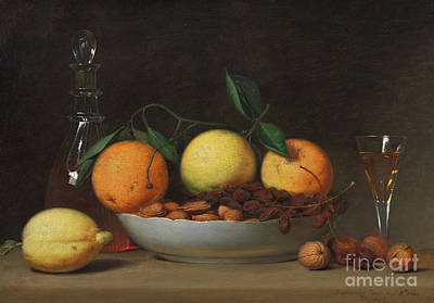 Painting - A Dessert, 1814  by Raphaelle Peale