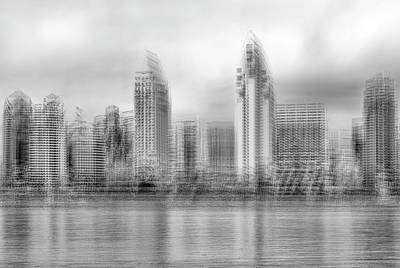 Photograph - A Different Sd Skyline #1 by Joseph S Giacalone