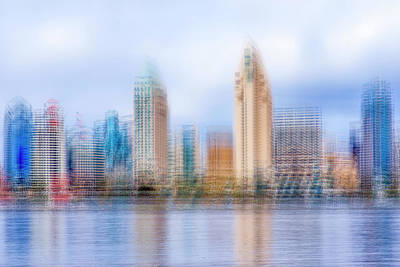 Photograph - A Different Sd Skyline #2 by Joseph S Giacalone