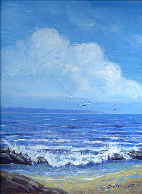 Painting - A Distant Shore by Richard De Wolfe
