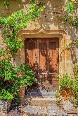 Photograph - A Door In Bruniquel by W Chris Fooshee