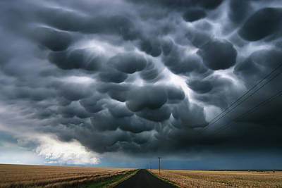 Photograph - A Drive Down Mammatus Road by Brian Gustafson
