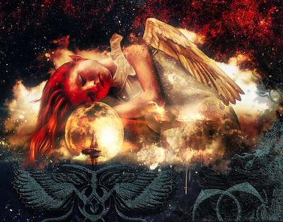 Digital Art - A Fairy's Dreams by Michael Damiani