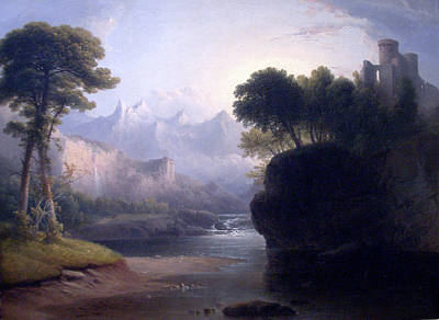 Painting - A Fanciful Landscape by Thomas Doughty