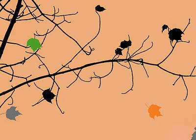Photograph - A Few Leaves by Bob Orsillo