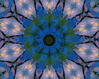Jodi Diliberto Royalty-Free and Rights-Managed Images - A Frivolous Mandala by Jodi DiLiberto