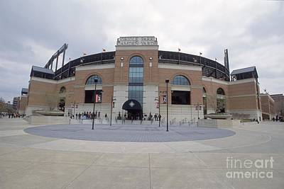 General Photograph - A General View Of Oriole Park At Camden by Doug Pensinger