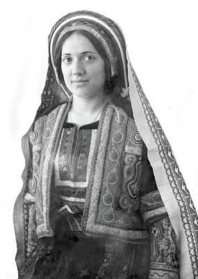 Photograph - A Girl From Ramallah by Munir Alawi