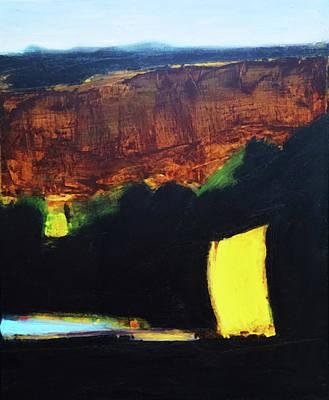 Painting - A Glimpse Of Sun by Evy Olsen Halvorsen