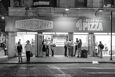 Photograph - A Good Night For Pizza by Sharon Popek