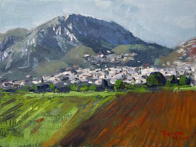 A Greek Village Original