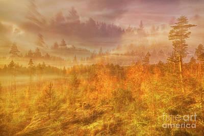 Impressionism Photos - A hasty morning by Veikko Suikkanen