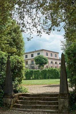 Photograph - A Hidden View In The Boboli Gardens by Eduardo Jose Accorinti