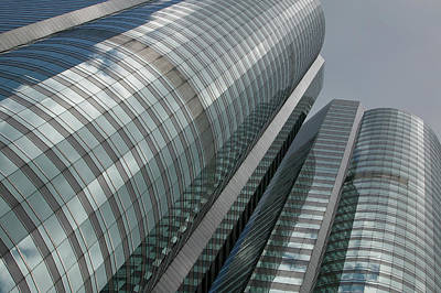 Photograph - A High Rise Office Building by Brent Winebrenner