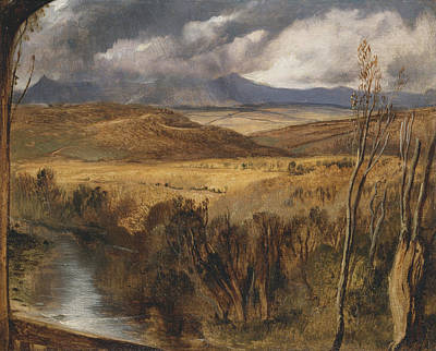 Painting - A Highland Landscape by Edwin Landseer