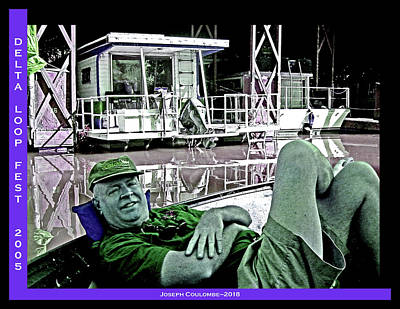Digital Art - A Lazy Day On The Delta by Joseph Coulombe