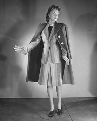 Photograph - A Mannequin Dressed In A Womens Suit Wi by Nina Leen