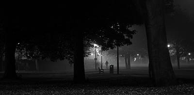 Photograph - A Midnight Walk In The Park by Karsten Moerman