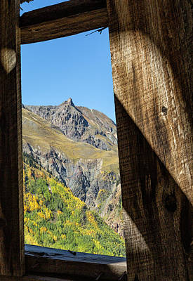 Photograph - A Miner's View by Denise Bush