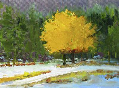 Painting - A New Season by Nancy Merkle