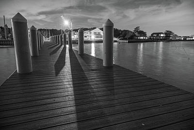 Photograph - A Night On The Dock by Kristopher Schoenleber
