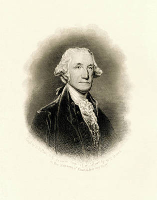Photograph - A Noble George Washington by Paul W Faust - Impressions of Light