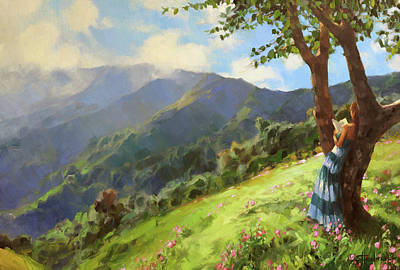 Tribal Patterns - A Novel Landscape by Steve Henderson