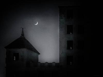 Photograph - A Peak Through The Dark by Denise Dube