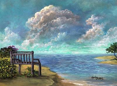 Painting - A Place To Dream by Randy Burns