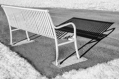 Photograph - A Place To Have A Seat by Susan Candelario