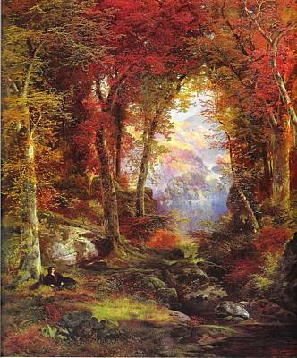 Painting - Under The Trees by Reynold Jay