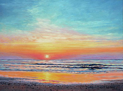 A Promising Beginning - Sunrise On The Outer Banks Original