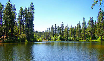 Photograph - A Quiet Place - Bass Lake by Glenn McCarthy Art and Photography