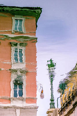 Photograph - A Reflection Of Trieste by W Chris Fooshee