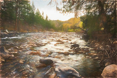 Photograph - A River Runs Through It by Jennifer Grossnickle